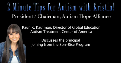 2 Minute Tips for Autism with Kristin!