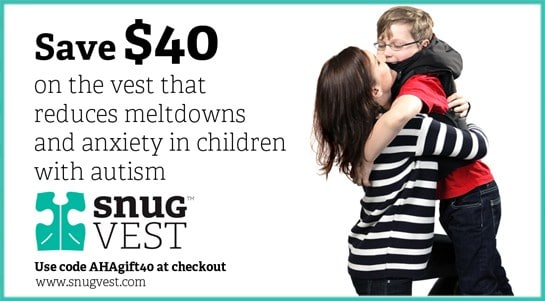 Snug Vest Coupon Autism Hope Alliance